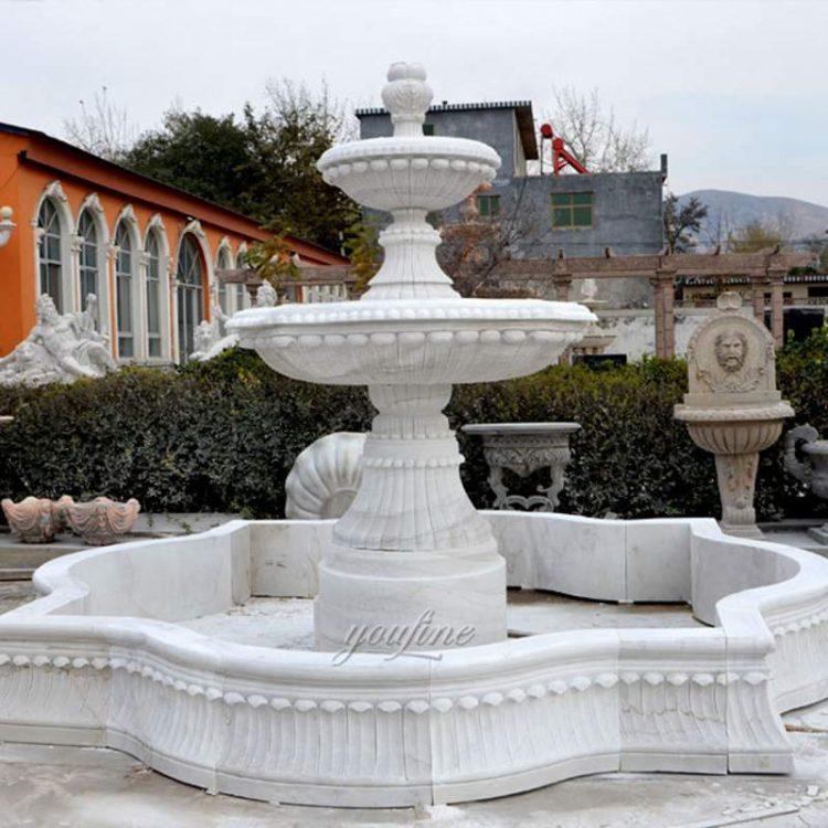 Garden Outdoor Marble Fountain for Sale MOKK-95