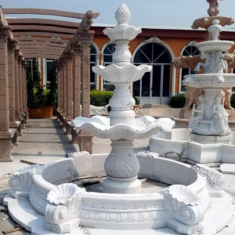 Garden Outdoor Marble Water Fountain for Sale MOKK-96