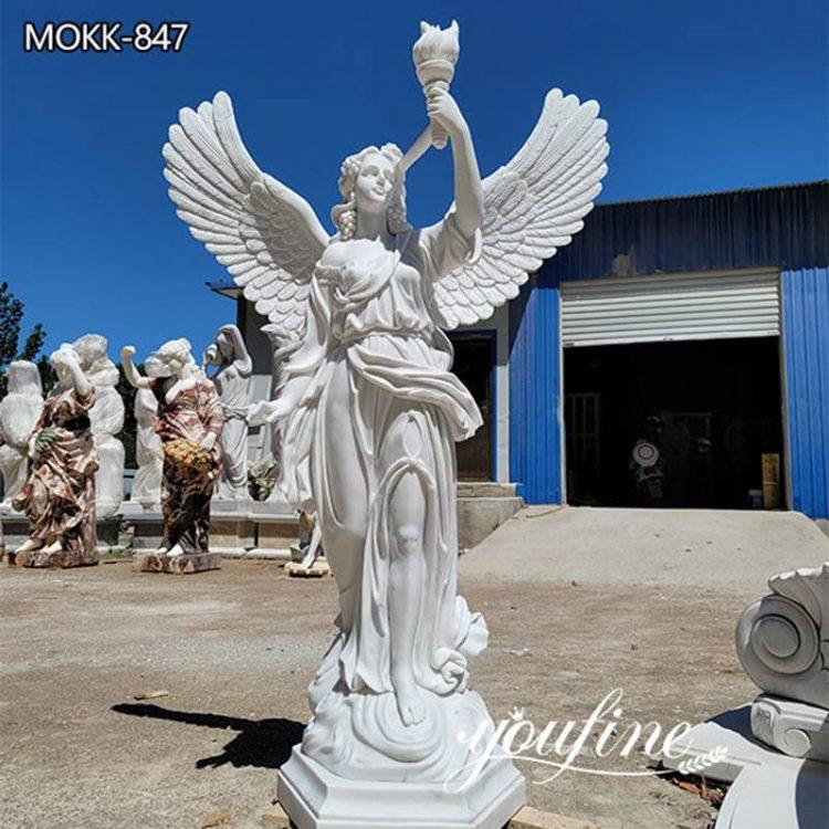 Garden Life Size Marble Angel Statue for Sale MOKK-847