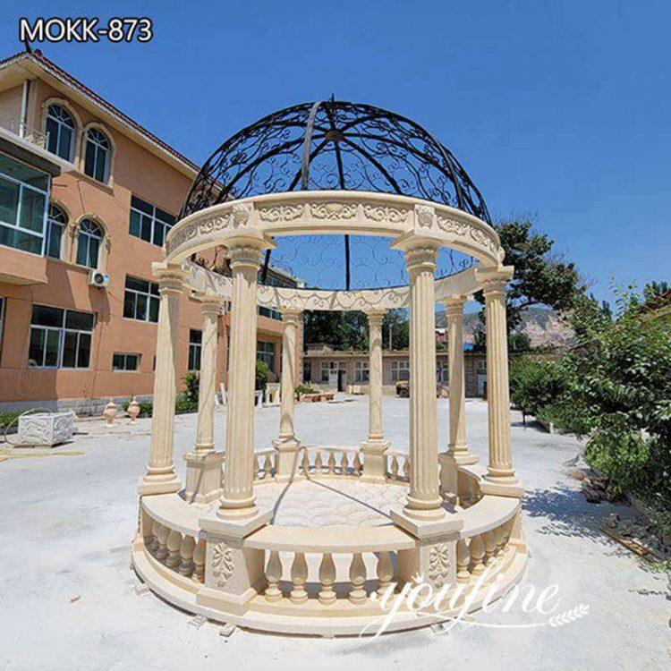 Natural Marble Gazebo for Wedding Ceremony for Sale MOKK-873